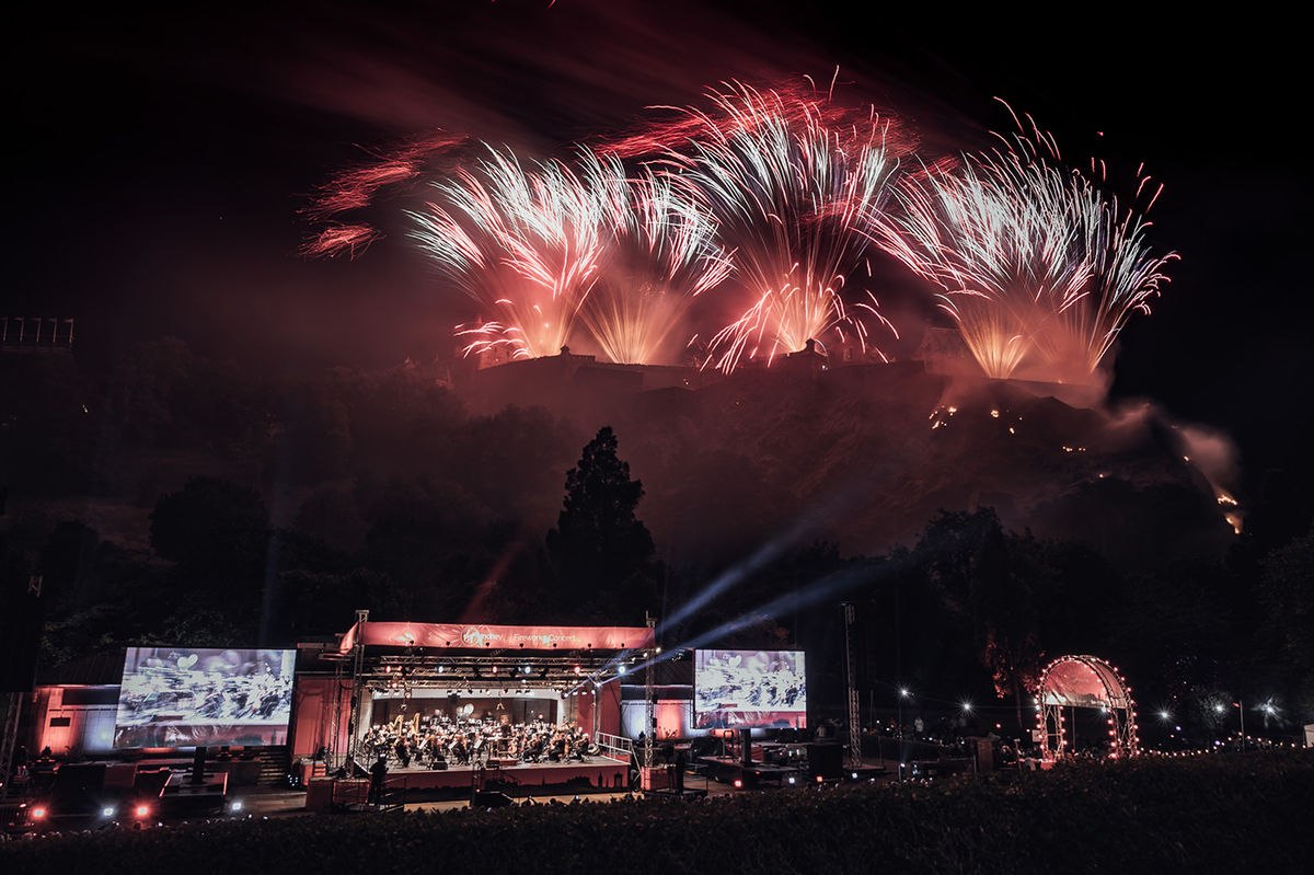 Virgin Money Fireworks Concert | Edinburgh International